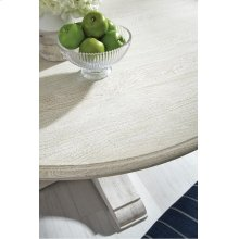 "Ventura Dining Tbl 60"" Antique Wht"