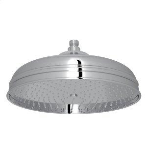 """Polished Chrome 12"""" Bordano Rain Anti-Cal Showerhead Product Image"""