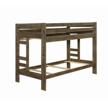Wrangle Hill Gun Smoke Twin/twin Bunk Bed