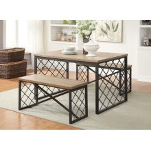 3PC PACK DINING SET