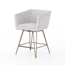 Counter Stool Size Rooney Swivel Bar + Counter Stool