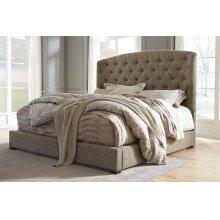 Gerlane - Dark Brown 2 Piece Bed Set (Cal King)