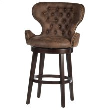Mid-city Swivel Counter Height Stool