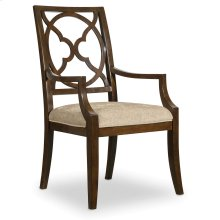 Dining Room Skyline Fretback Arm Chair