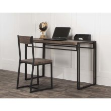 Dawn-20x74 3pc Blk Desk/chr