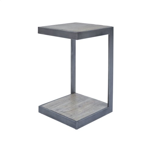 "Global Archive ""c"" Table - Antique Grey"