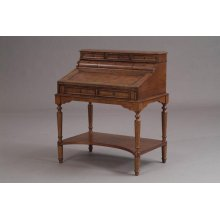 Leather Faced Writing Desk