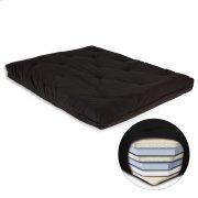 8-Inch Futon Mattress with Multi-Layer Cotton and Foam Core, Black Product Image