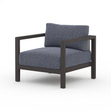 Faye Navy Cover Sonoma Outdoor Chair, Bronze