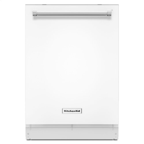 44 dBA Dishwasher with Dynamic Wash Arms White