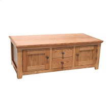 A-S304 Shaker Alder 2-Door Coffee Table