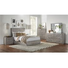 5R ALEXANDRA COMPLETE KING BED (HB, FB & S, R)