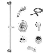 Commercial Shower System with Hand Shower and Diverter for Flash Rough-in Valves - 2.5 GPM  American Standard - Polished Chrome