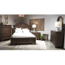 1W COLSTON COMPLETE KING BED (HB, FB, R, S)