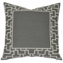 "Luxe Pillows Organic Fretwork (23"" x 23"")"