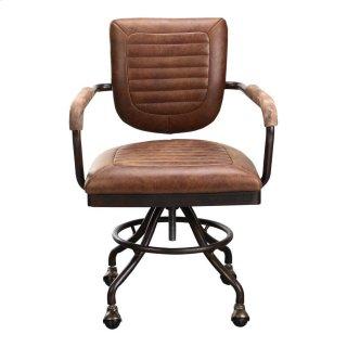 Foster Swivel Desk Chair - Soft Brown