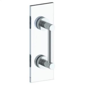 """Sutton 12"""" Shower Door Pull / Glass Mount Towel Bar Product Image"""
