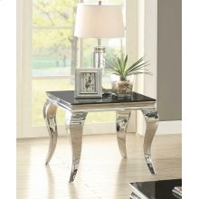 Contemporary Black Side Table