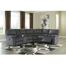 Urbino - Charcoal 3 Piece Sectional