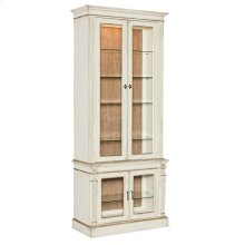 Dining Room Sanctuary Display Cabinet Blanc