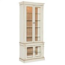 Dining Room Sanctuary Display Cabinet Blanc