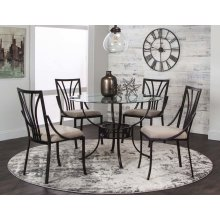 Sonata 5pc Dining Set