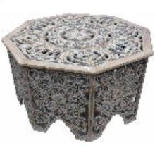 """WD CARVED COFFEE TABLE 33""""W, 18""""H"""