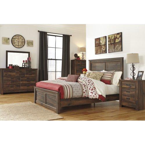 Quinden - Dark Brown 2 Piece Bedroom Set