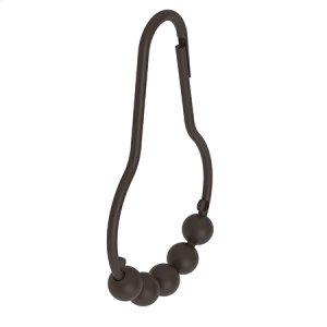 Oil Rubbed Bronze Shower Curtain Rings Product Image