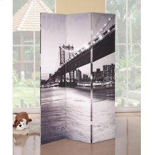 BRIDGE SCENERY WOODEN SCREEN