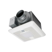 WhisperSense® DC Fan/LED Light, 50-80-110 CFM
