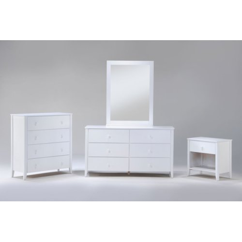 Zest Cases in White Finish
