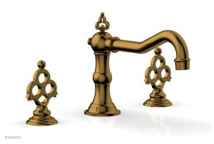 MAISON Deck Tub Set 164-40 - French Brass Product Image