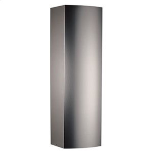 Optional Ducted Flue Extension for RM659004 range hood in Stainless Steel