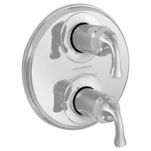 Patience 2-Handle Thermostatic Valve Trim Kit  American Standard - Polished Chrome