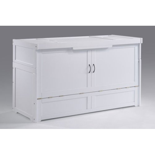 Murphy Cube / Murphy Cube 2 * Cabinet Bed in White Finish
