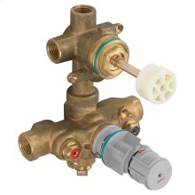 Two-Handle Thermostatic Rough Valve with Built-In 2-Way Diverter (Discrete)  American Standard -