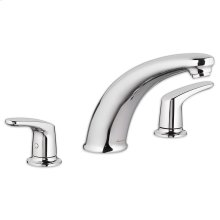 Colony Pro Deck-Mount Bathtub Faucet - Polished Chrome