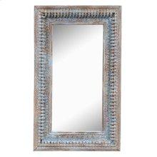 Jain Wd Mirror Frame Blue