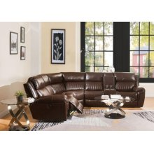 LONNA BROWN SECTIONAL SOFA