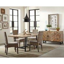 Thompson Industrial Mango Wood Dining Table
