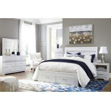 Jallory - White 6 Piece Bedroom Set