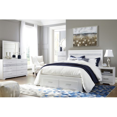 Jallory - White 4 Piece Bed Set (Queen)