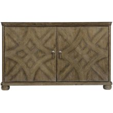 Rustic Patina Accent Chest in Peppercorn (387)
