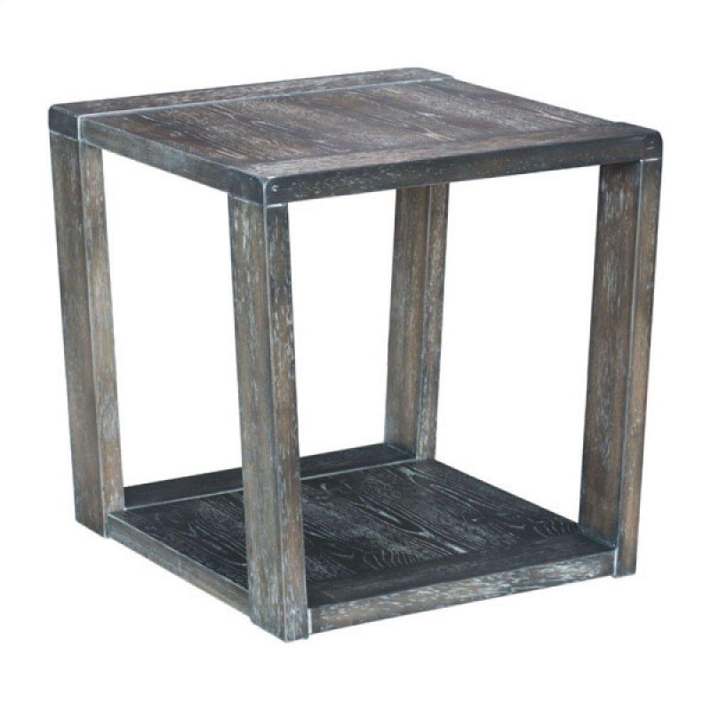 Skyline End Table Gray
