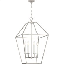 Aviary Chandelier in Brushed Nickel