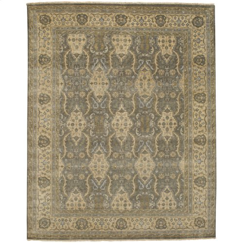 Yazzie Lt. Grey Ivory Hand Knotted Rugs