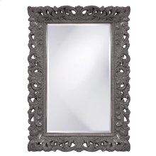 Barcelona Mirror - Glossy Charcoal