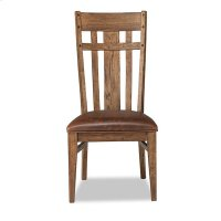 River Lattice Back Side Chair Product Image