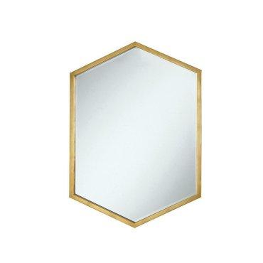 Unique Hexagon Shaped Mirror